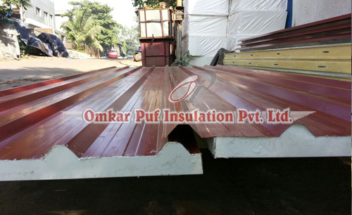 Puf Insulated Roofing Panel, Mumbai, India