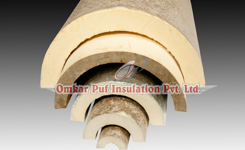 Insulation Materials Polyurethane Foam Pipe Section